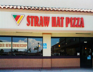 Straw Hat Pizza Location For Sale in City of Orange California